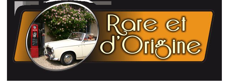 Rare et d'Origine - Revendeur d'automobiles de collection