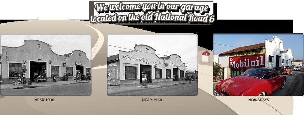 Notre garage de 1930 à nos jours